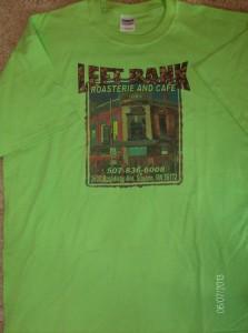 LB Lime Shirt